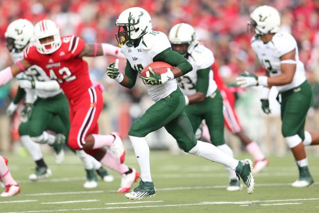 Former USF WR Mitchell Arrested