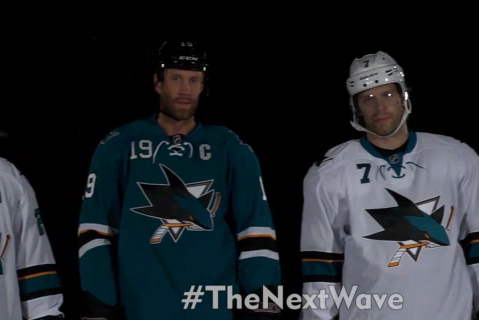 Video: Sharks Unveil 'The Next Wave' Jerseys