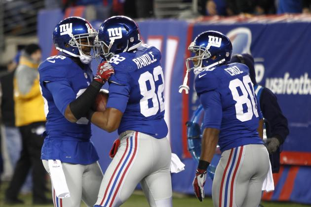 How Victor Cruz's Injury Affects Fantasy Value of Hakeem Nicks and Rueben Randle