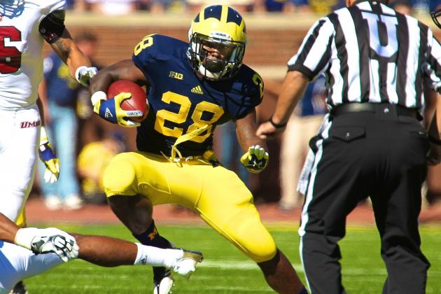 Michigan Football: Revitalized Fitz Toussaint Will Spark Wolverines Offense