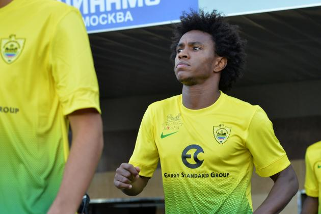 Liverpool Transfer News: Reds Must Sign Willian Before Window Closes