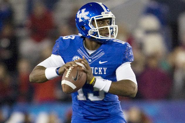 UK Quarterback Competition Trimmed to Two