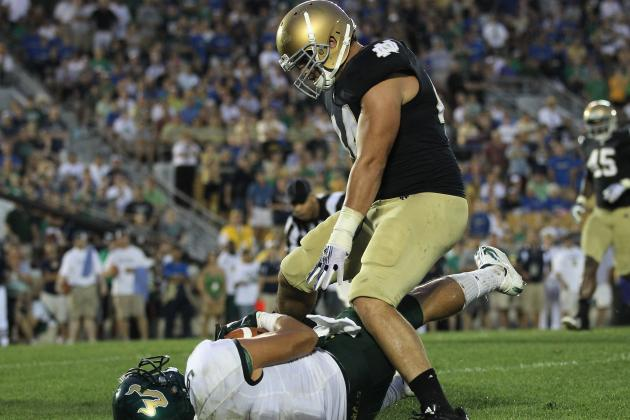 Notre Dame Football: Comparing Carlo Calabrese's Skill Set to Manti Te'o's