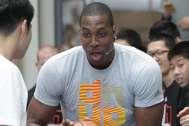 Dwight Howard Willing to Change Positions for Rockets