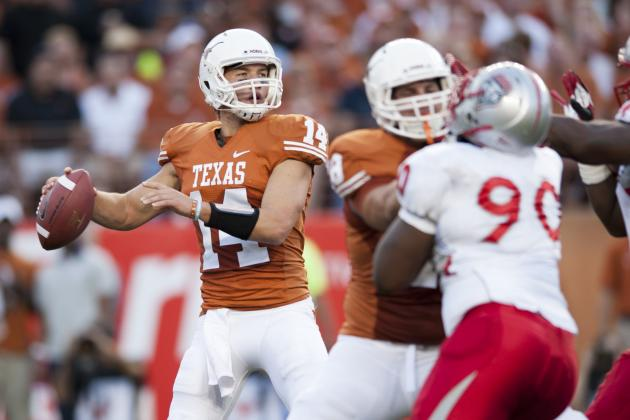 Texas Football: Will David Ash Be More Garrett Gilbert or Colt McCoy in 2013?