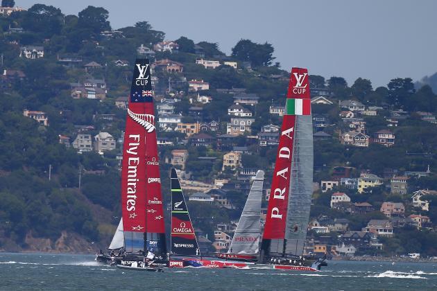 America's Cup San Francisco 2013: Breaking Down Louis Vuitton Final