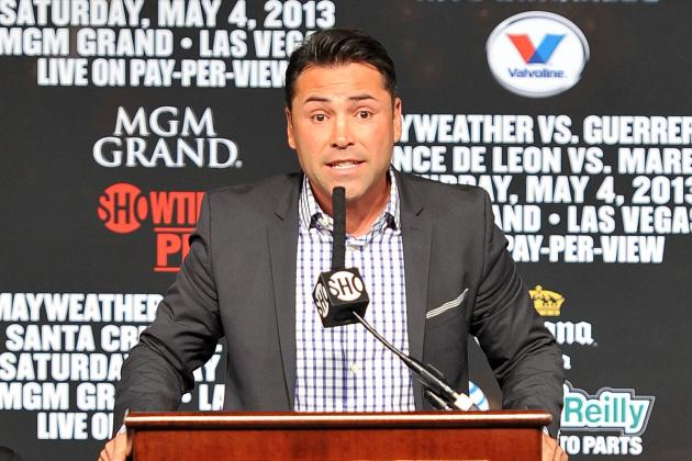 Video: De La Hoya Discusses New FS1 Series, More