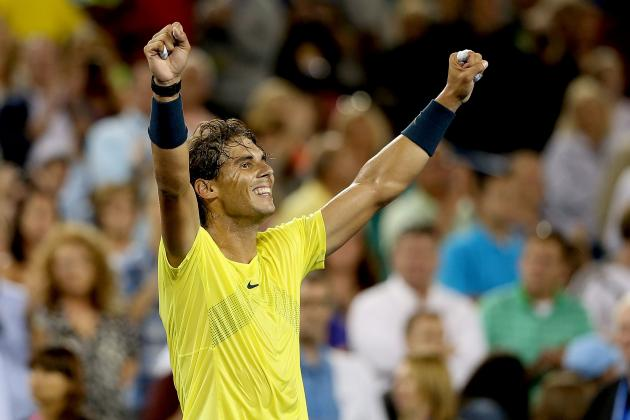 US Open Tennis 2013: Power Ranking Top Men's Seeds in Grand Slam Finale