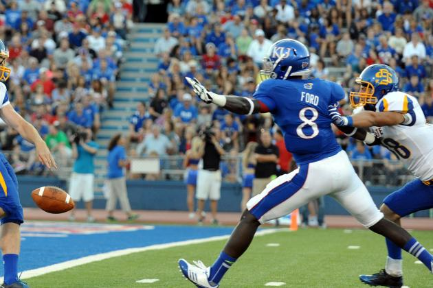 Special Teams Standout Ford Aims for KU's Starting WR Job