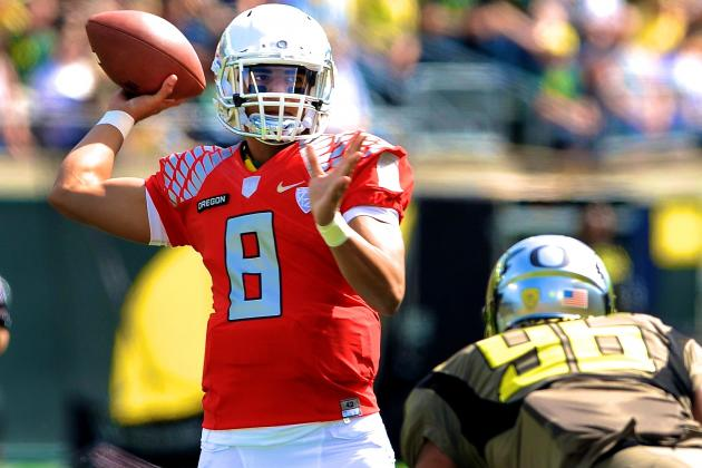 Breaking Down How to Stop Oregon QB Marcus Mariota