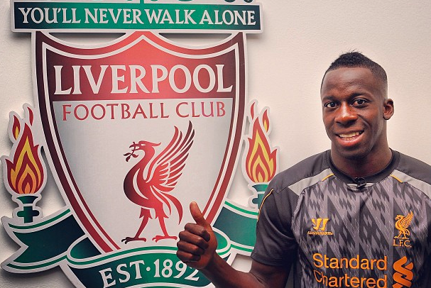 The First Images of Aly Cissokho in a Liverpool Kit