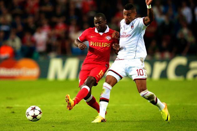 PSV Eindhoven vs. AC Milan: Live Score, Highlights, Recap