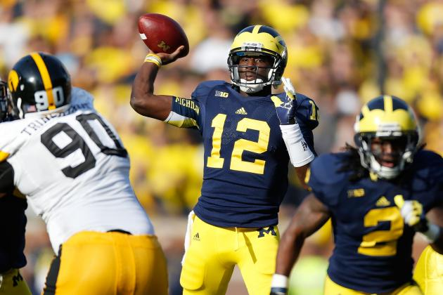 Michigan Football: Wolverines' Offense Will Be Better with QB Devin Gardner