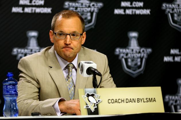 How Close to Hot Seat is Penguins Coach Dan Bylsma Entering 2013-14 Season?
