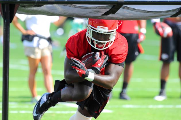 Georgia Football: How Keith Marshall's Added Weight Impacts the Bulldogs Offense