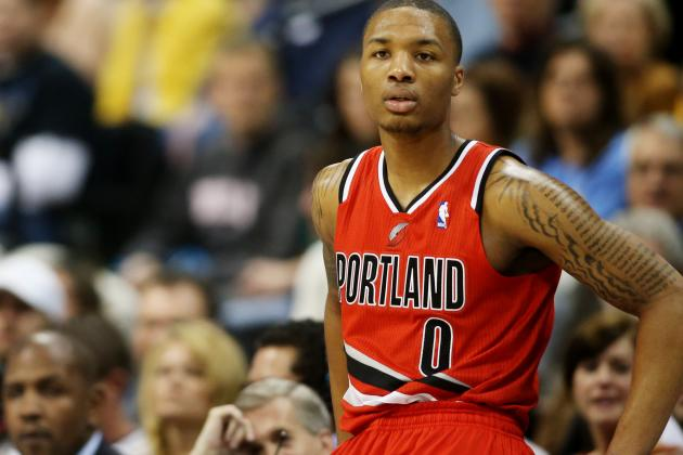 Damian Lillard Hopes to Play Less for Improved Blazers