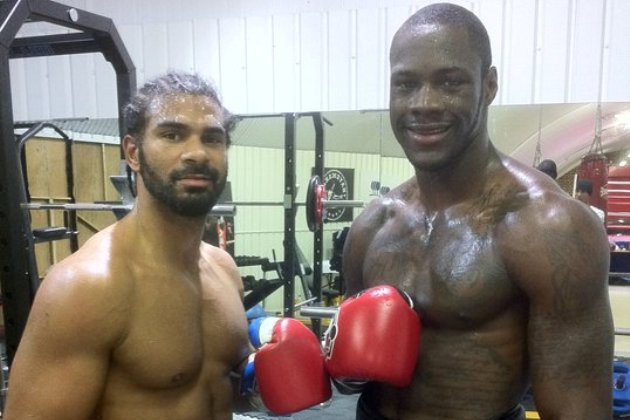 Deontay Wilder to Spar with David Haye