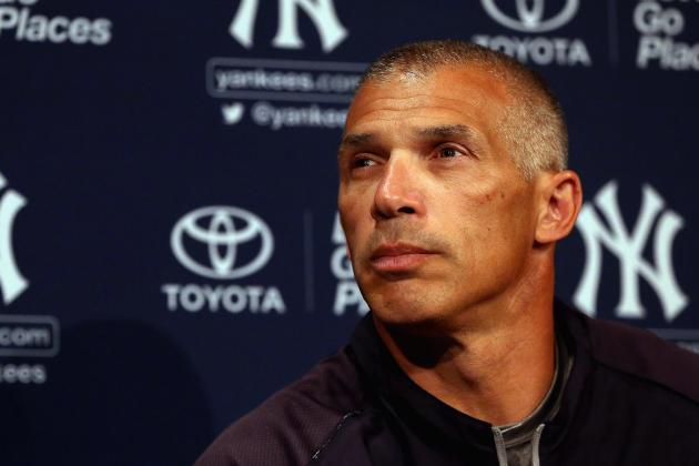 Yankees Manager Joe Girardi Offers 'No Comment' on Ryan Dempster's Suspension
