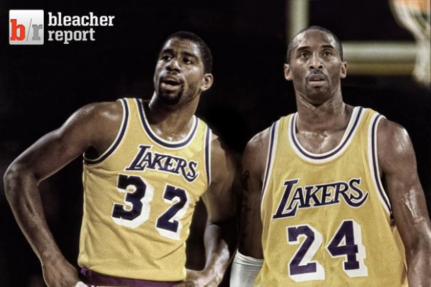 Kobe Bryant vs. Magic Johnson: 5 Days of Black Mamba Birthday Comparisons