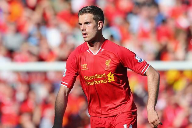 Jordan Henderson to Be Liverpool's Breakout Player of 2013-14