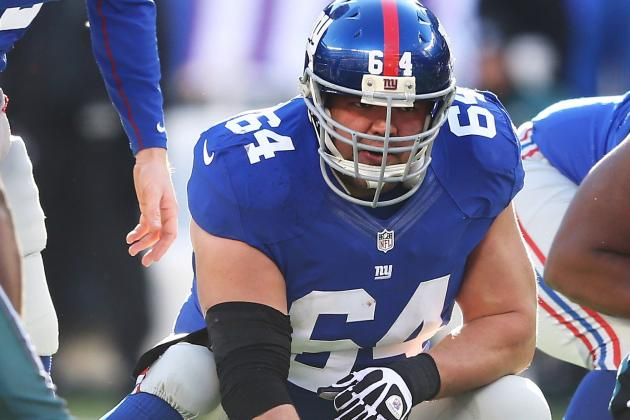 To NY Giants Center David Baas, Opener Against Dallas Cowboys Is Possible