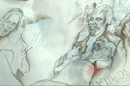 Video: Mason's Mask to Feature Zombie Ben Franklin