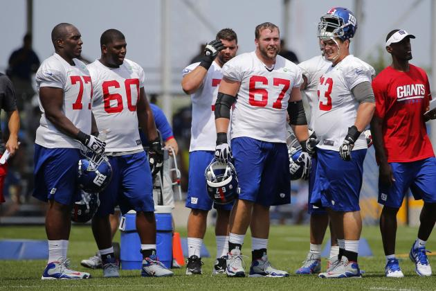 Debate: What Is New York's Best Offensive Line Combination Right Now?