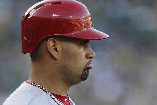 Salmon: Pujols' Plantar Fasciitis Days Are over