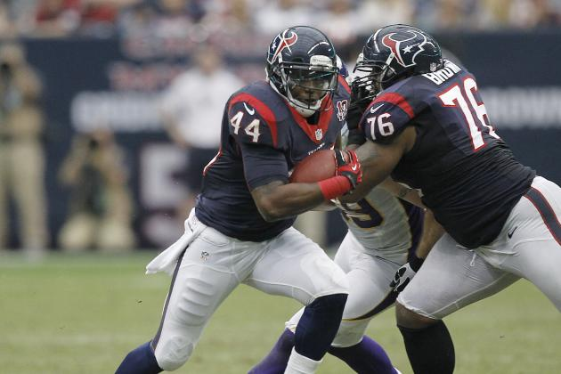 Ben Tate in Position to be Fantasy Football Stud