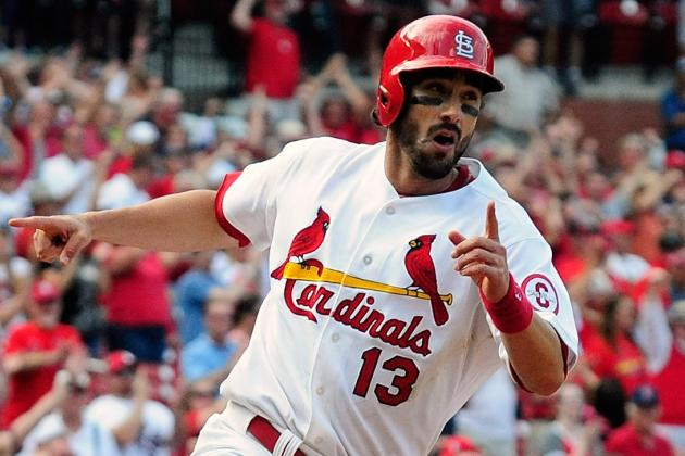 Matt Carpenter and Allen Craig Return to Lineup Today vs. Brewers