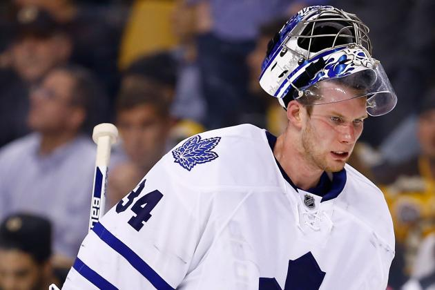 Expect Plenty of Heat from Leafs Goaltending Battle Between James Reimer...