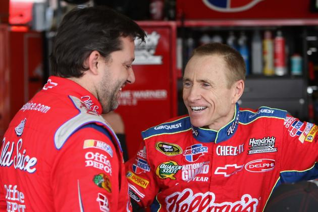 Mutual Respect Led to Mark Martin-Tony Stewart Deal