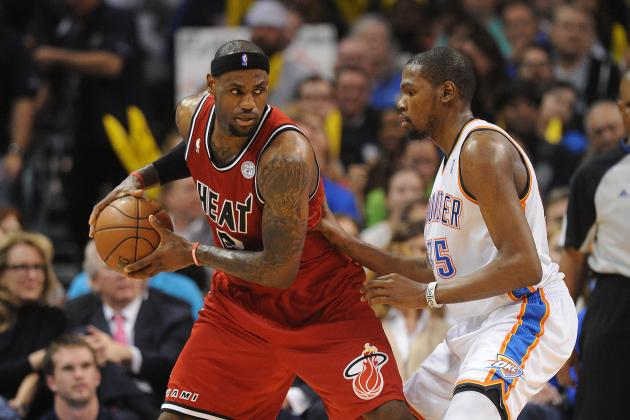 When Will Kevin Durant Surpass LeBron James as the Best Player in the NBA?