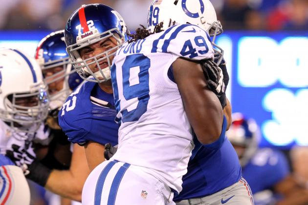 New York Giants: Justin Pugh Wins Starting RT Job in Uneventful Fashion