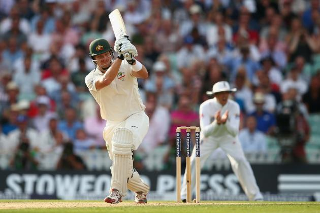 Ashes 2013: Why Shane Watson Is Player of the Day on Day 1 at the Oval