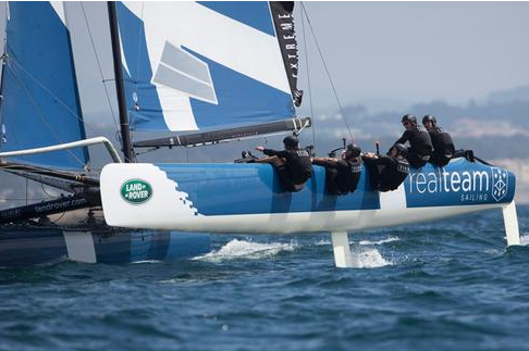 Extreme Sailing Series Act 6: Realteam Quietly Ambitious