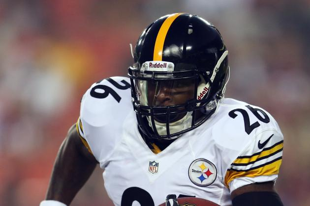 Steelers Rookie RB Le'Veon Bell out 6 Weeks with Foot Injury