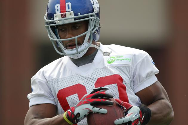 How the New York Giants Can Prepare for a Possible Week 1 Without Victor Cruz