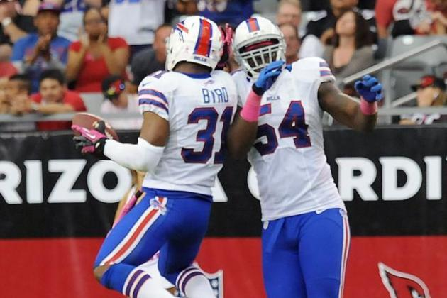 REPORT: Buffalo Bills Safety Jairus Byrd Hoping to Be Traded