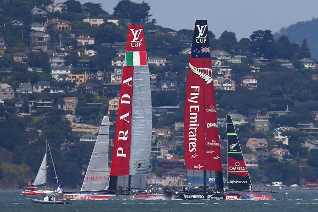 Emirates Team New Zealand Takes 3-1 Lead over Italy's Luna Rossa