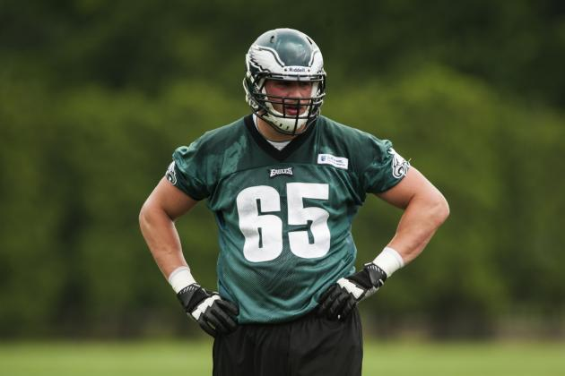 Lane Johnson on Protecting Vick's Blindside