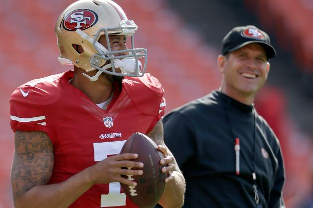 Harbaugh Re-Emphasizes 'Hands Off' Policy on Kap