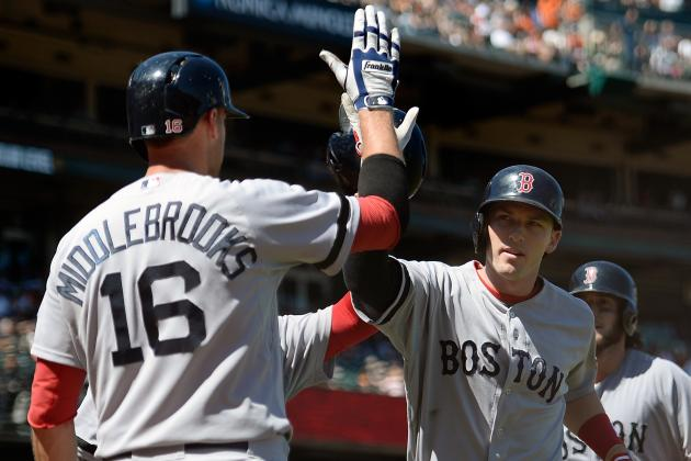 Drew, Doubront Deliver Red Sox Past Giants