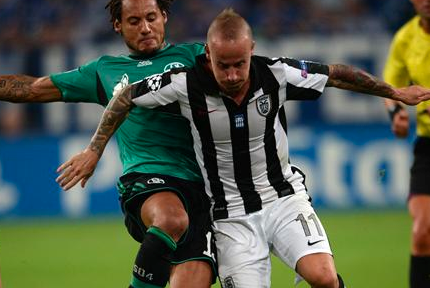 Schalke 04 Draw with PAOK Salonika 1-1