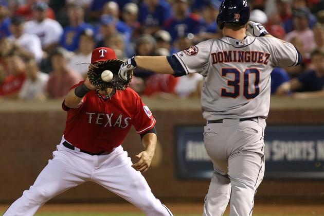 Rangers Beat Astros 5-4