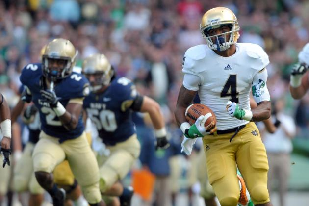 Notre Dame Football: Potential Breakout Stars for Irish in 2013