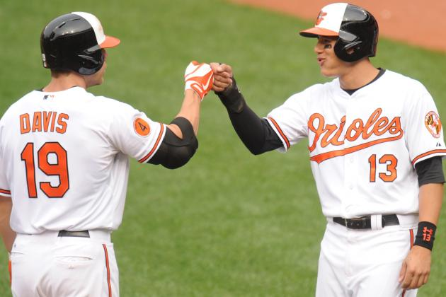 Davis Belts 46th HR as Orioles Hold off Rays