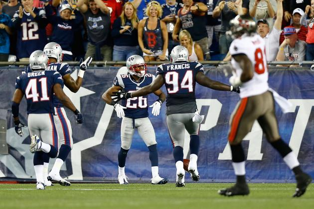 Logan Ryan, Duron Harmon Pushing for Playing Time in Patriots Secondary
