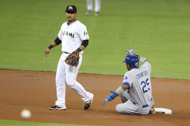 Sloppy Marlins Lose to Dodgers in Front of LeBron