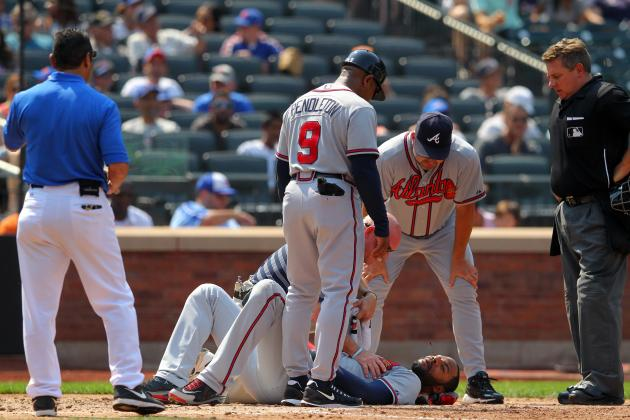 Heyward Injury Scare Leaves Niese Feeling 'terrible'